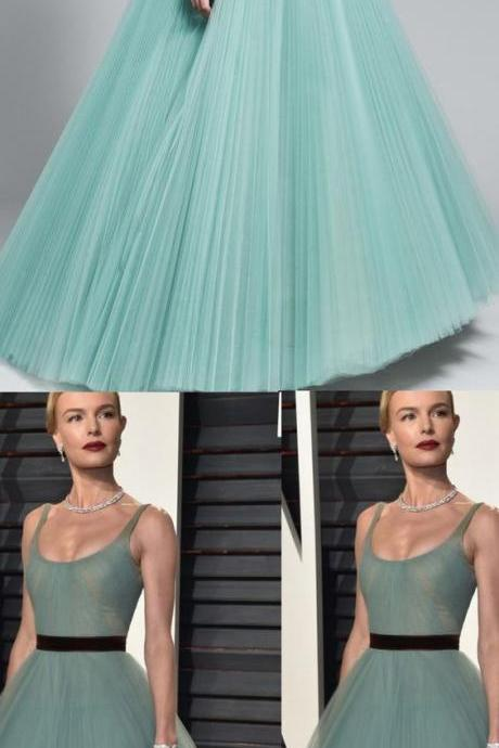 Gown Evening Dresses, Light Blue Ball Gown Evening Dresses, Gown Long Evening Dresses, Beautiful Prom Dresses Straps Ball Gown Long Prom Dress/Evening Dress