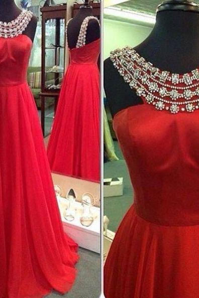 Red Dress, Prom Dress, Red Prom Dress, High Neck Dress, Prom Dress , Dress Prom, High Neck Prom Dress red prom dresses, Prom Gowns, Formal Women Dress, Custom Made ,New Fashion